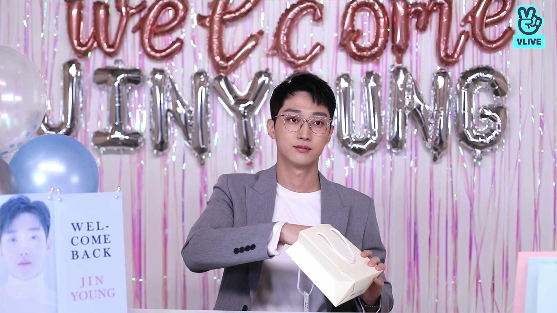 WELCOME BACK JINYOUNG