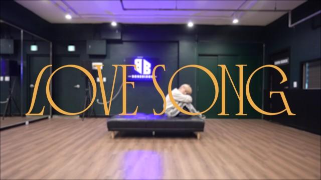 윤지성(Yoon Jisung) - 'LOVE SONG' 안무 영상 DANCE PRACTICE VIDEO