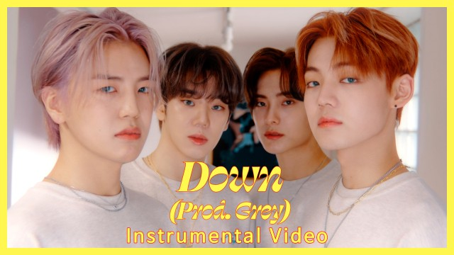 에이스 (A.C.E) - Down (Produced by Grey) Instrumental Video