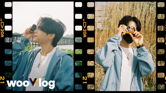 SUBS)Up Close&Personal Coverage on Woojin's Hobby📸🌸#wooVlog