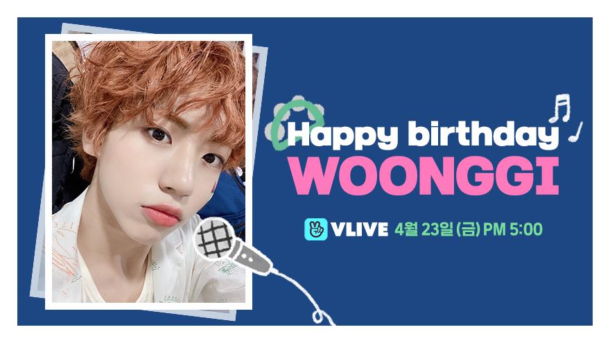 Happy Birthday WOONG GI🎂🎉