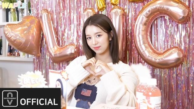 [WAPLE🧇] woo!ah! (우아!) - 와플 #3 | 루시 생일 브이앱🧸🎂 깜짝 이벤트 비하인드🎉