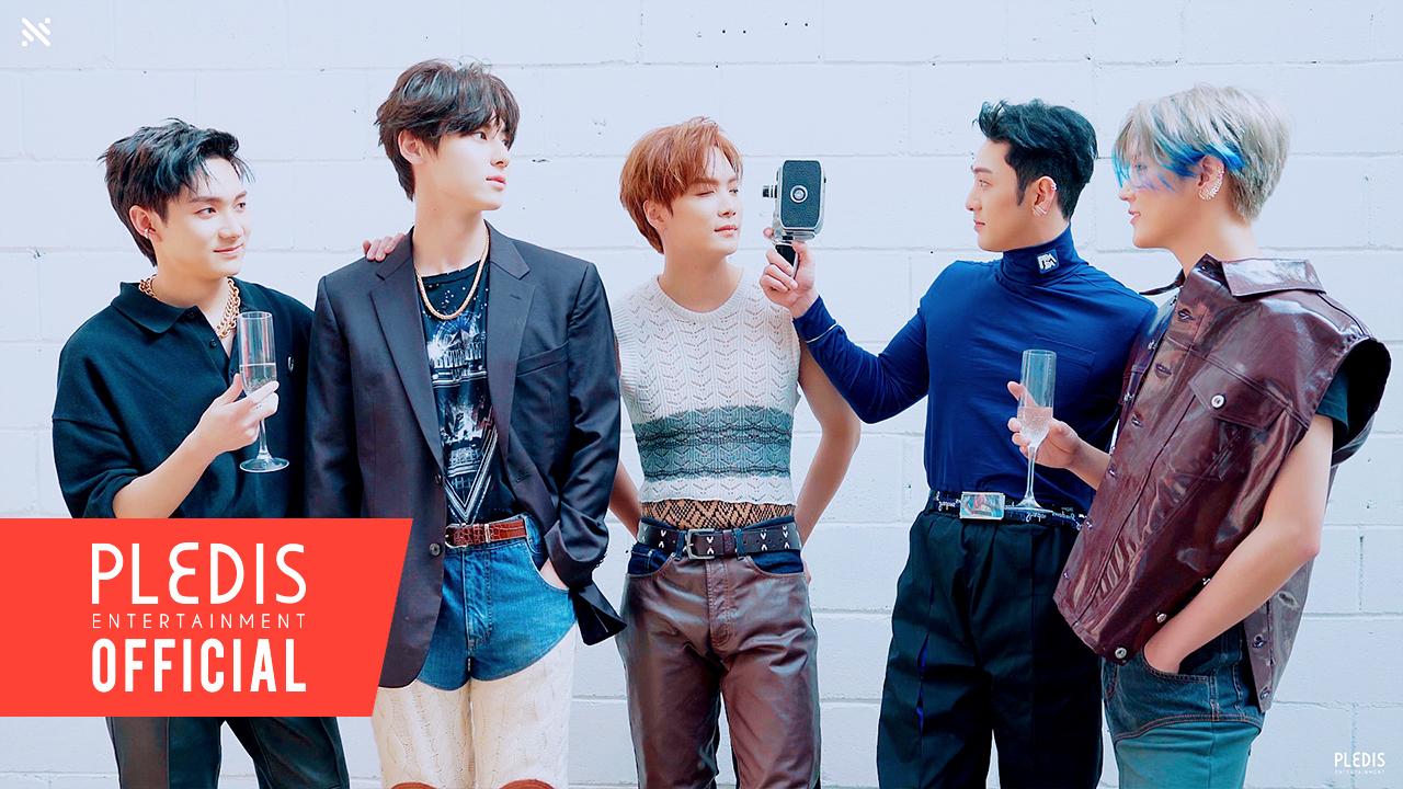 NU'EST The 2nd Album 'Romanticize' Jacket Behind The Scenes