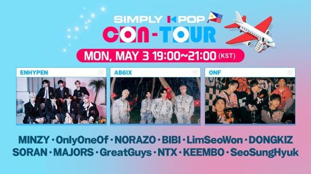 [LIVE] SIMPLY K-POP CON-TOUR (PHILIPPINES) 🌟 ENHYPEN, AB6IX, ONF