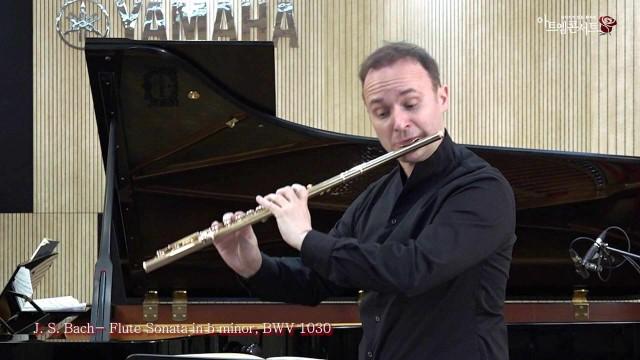 [140회 아트엠콘서트] 플루티스트 필립윤트 J. S. Bach - Flute Sonata in b minor