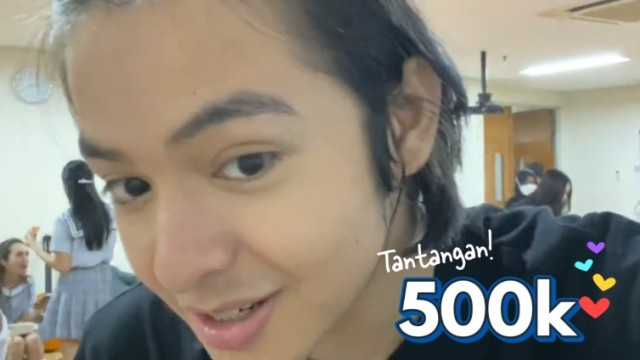[V PICK!] 500 Ribu 💙 Angga Kuncir Rambut!
