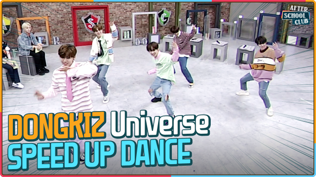'Universe' speed up dance (jib ver.)