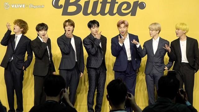 """[디스패치] """"'Butter' 발매 기념 글로벌 기자간담회"""" (방탄소년단 : BTS)"""