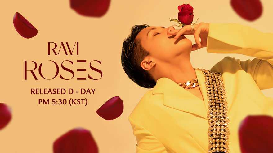 210603 RAVI 4th EP 'ROSES' Release D-DAY