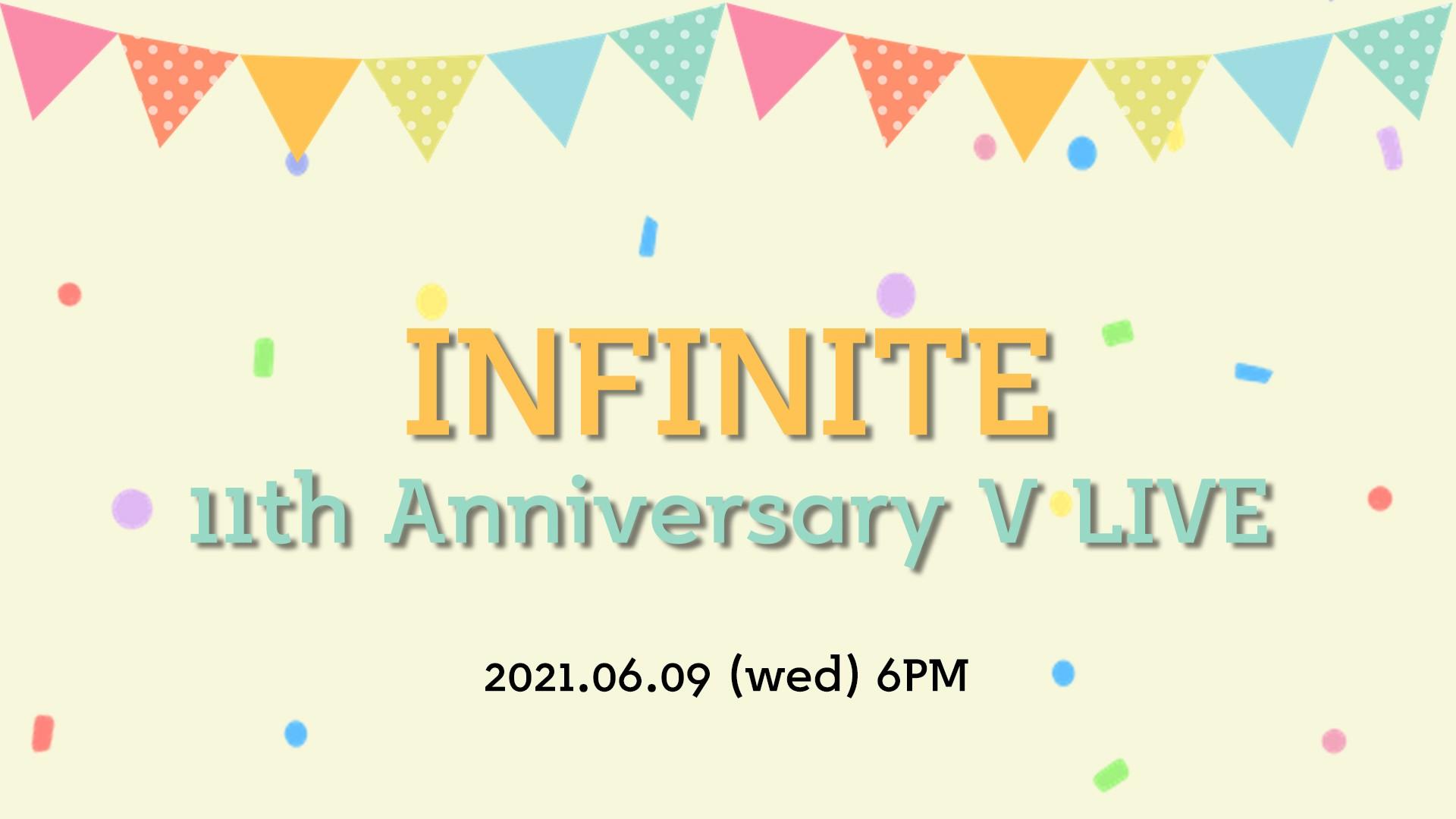 INFINITE 11th Anniversary V LIVE