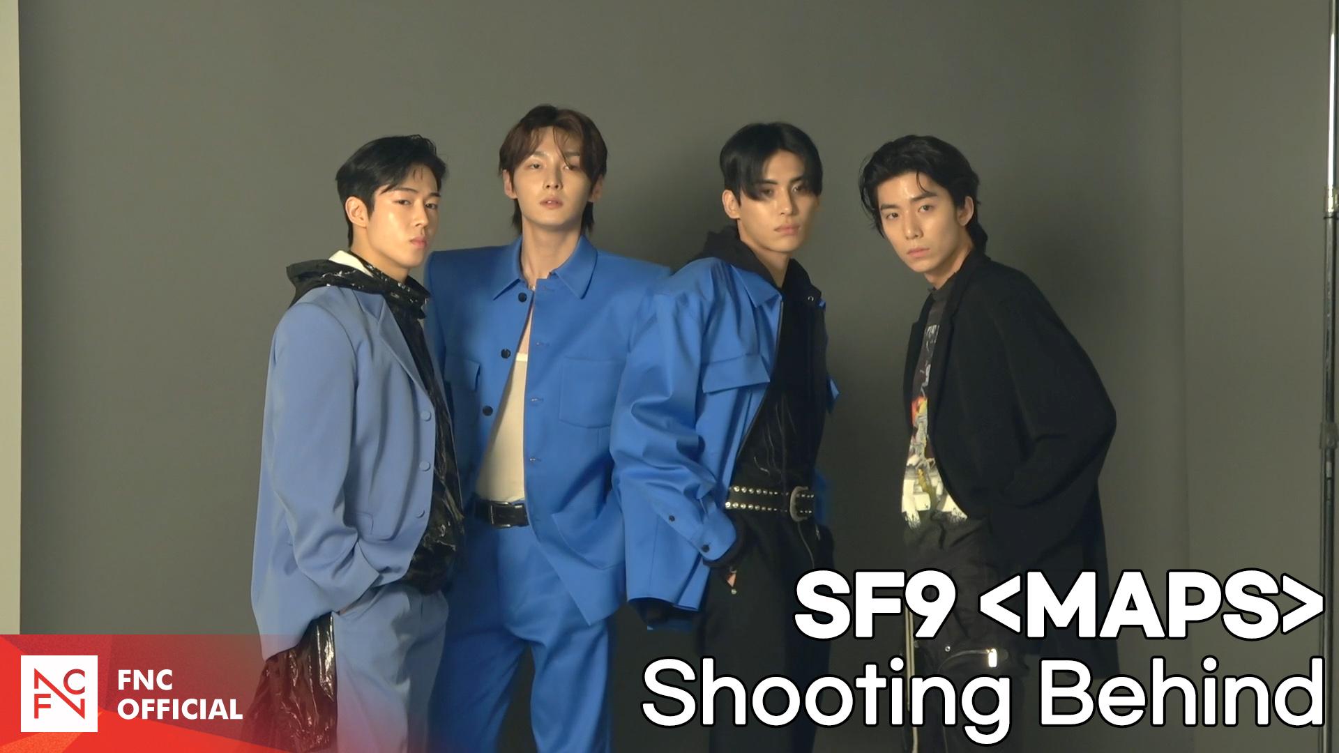 SF9 'MAPS' 7월호 Shooting Behind