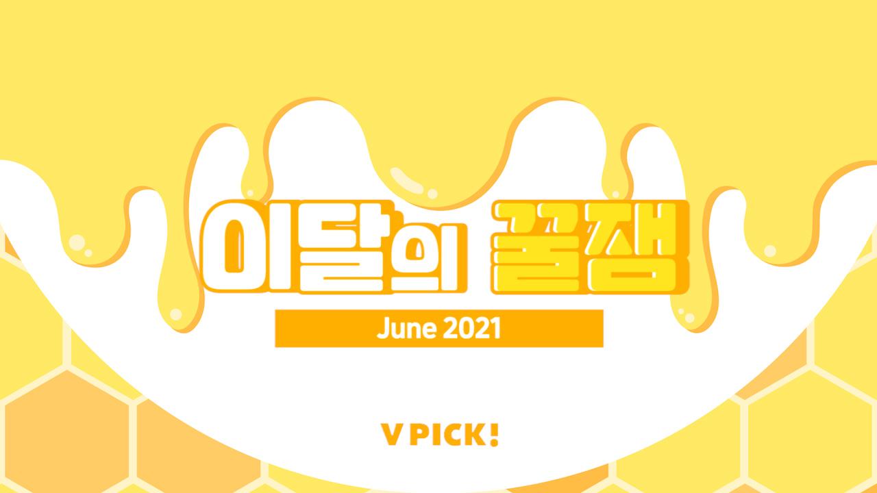[VPICK! 이달의 꿀잼] 2021년 6월의 브이픽 꿀포인트🍯 (VPICK! Highlights of June 2021)