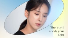 The world needs your light, korean actor Roh Haengha