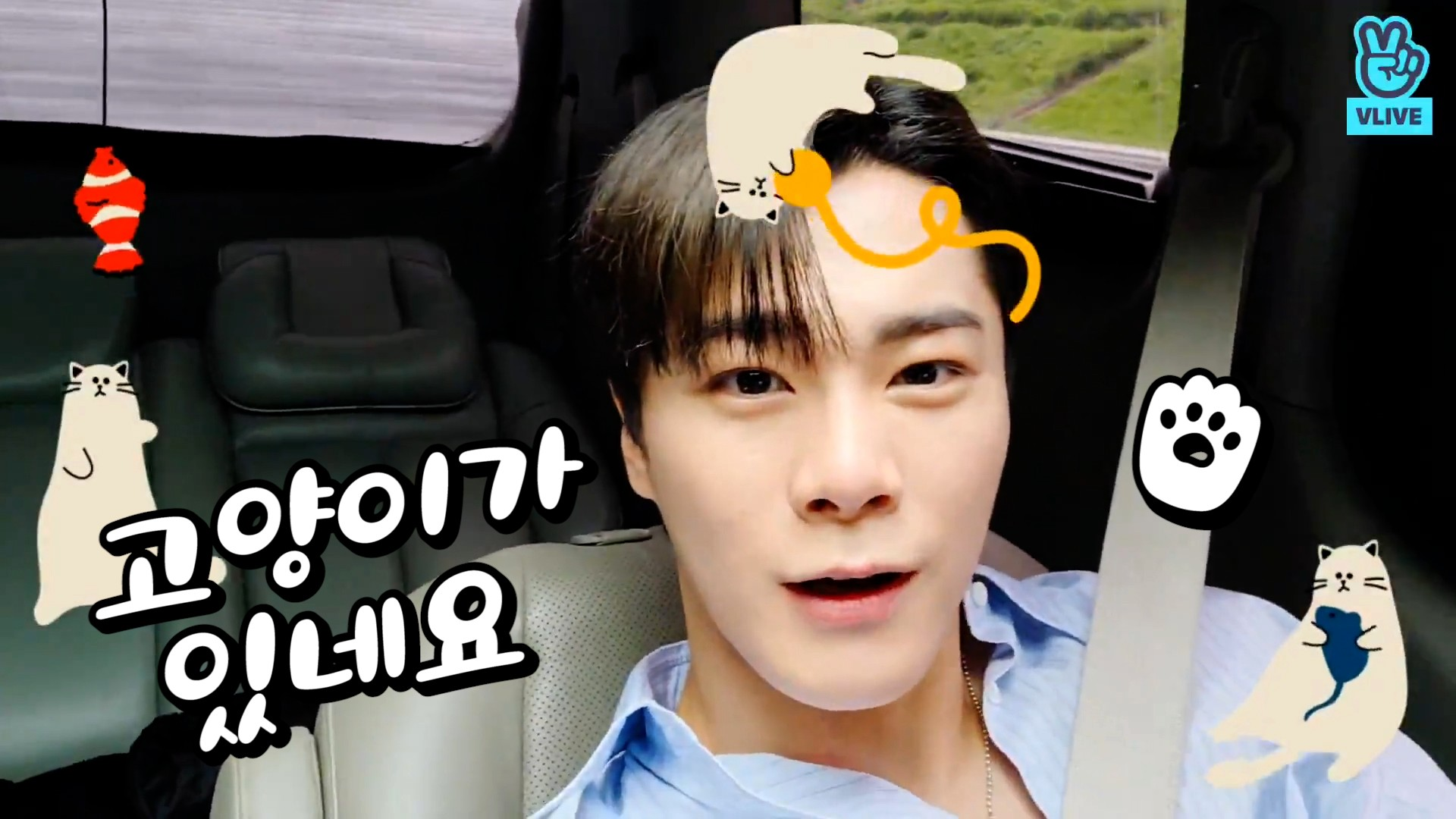 [ASTRO] 이게 뭐야 ♪ 이게 뭐야 ♬ 이건 멍냥이〰️🐶🐱 (MOONBIN talking about weather)