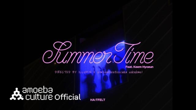 핫펠트(HA:TFELT) - 'Summertime (Feat. 김효은)' Teaser (Night ver.)