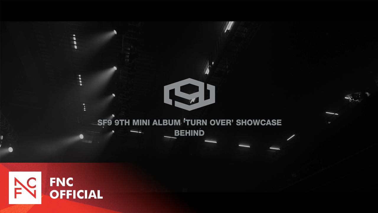 SF9 9TH MINI ALBUM 'TURN OVER' SHOWCASE BEHIND
