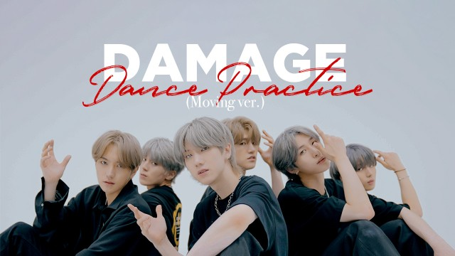 JUST B (저스트비) 'DAMAGE' Dance Practice (Moving ver.)