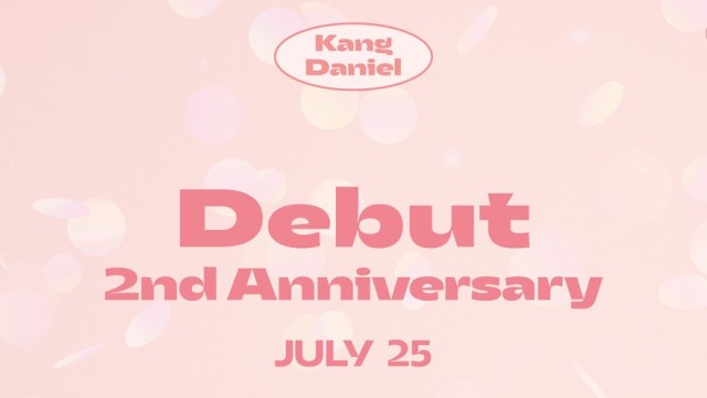 Happy KANGDANIEL 2nd Anniversary