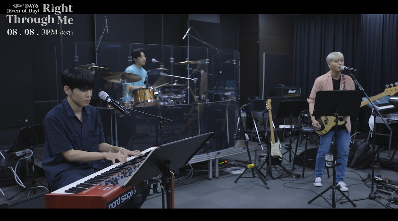 Beyond LIVE : Right Through Me Band Practice Behind Film