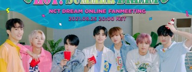 [Enter code number] Beyond LIVE - NCT DREAM ONLINE FANMEETING 'HOT! SUMMER DREAM'