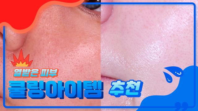 열받은 피부 즉각적으로 워워해주는 쿨링 아이템 🥶🥶🥶 Cooling Cosmetics Reviews