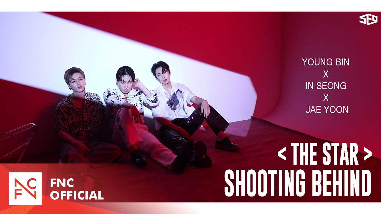 SF9 - 'THE STAR' Shooting Behind