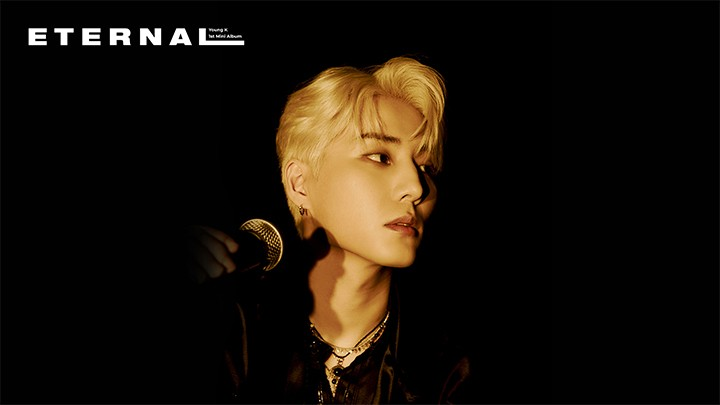 Young K 1st Solo Album < Eternal > Studio Live