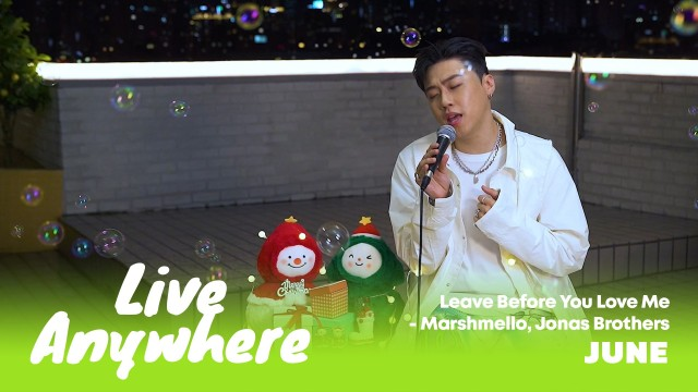 [LIVE] Jonas Brothers – 'Leave Before You Love Me' Covered by 준
