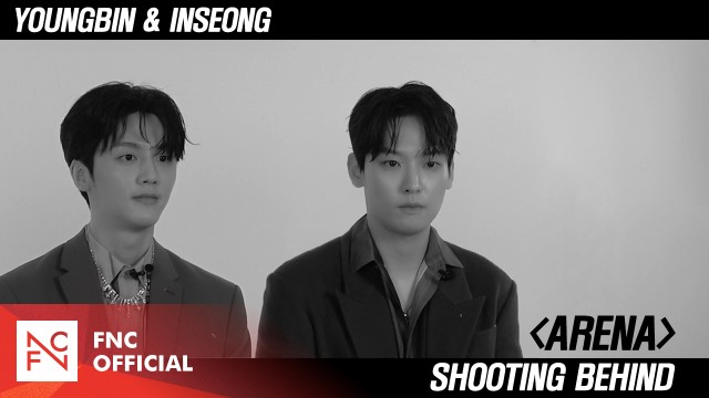 SF9 YOUNGBIN & INSEONG – 'ARENA HOMME+' Shooting Behind