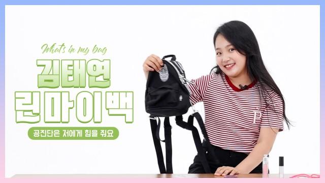 [ 린마이백 ] 태연아 이거 10살 가방 맞아요?😲