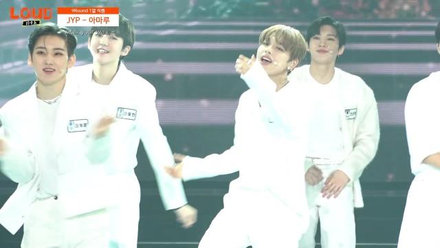 [9R 1열 직캠] 팀 JYP 아마루 - Walk your walk