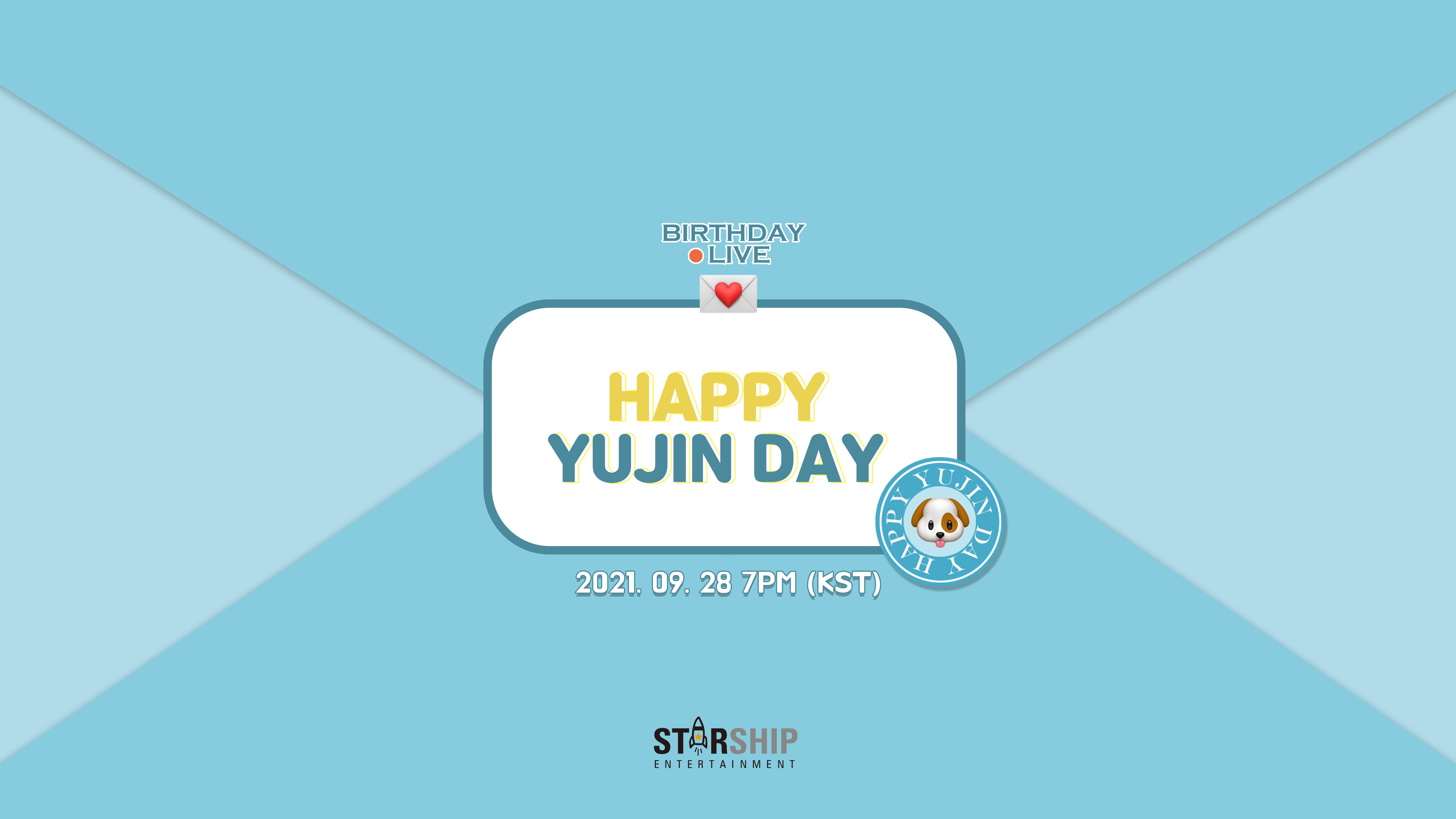 [안유진] HAPPY YUJIN DAY 💕