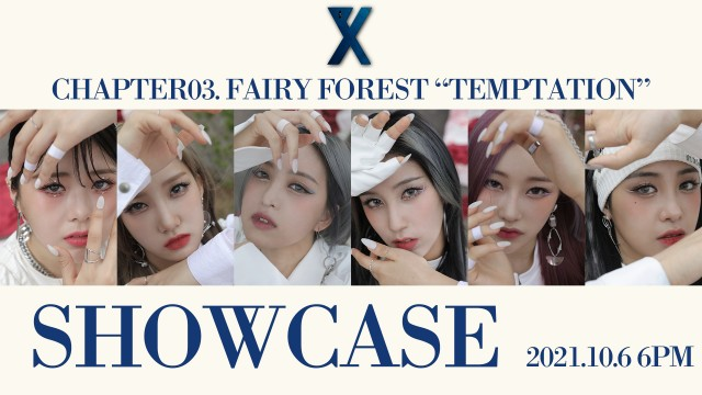 """PIXY(픽시) Chapter03. Fairy forest """"Temptation"""" Showcase"""