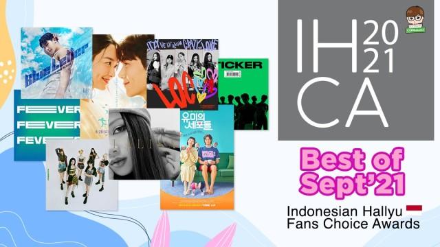 IHCA 2021 - BEST of September KPOP & KDRAMA