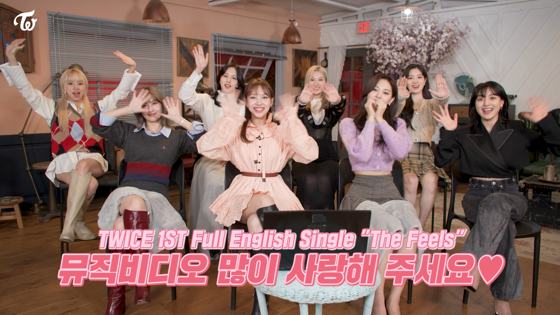 """TWICE """"The Feels"""" M/V Reaction"""
