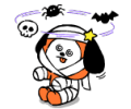 UNIVERSTAR BT21: Halloween Party